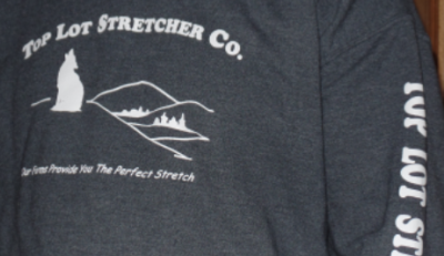 Top Lot Stretcher Co. Long Sleeve T-shirt - White Lettering