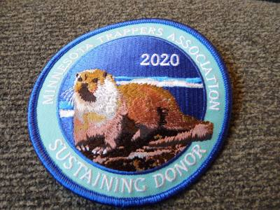 2020 Minnesota Sustaining Donor Patch - Otter
