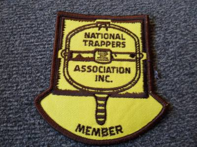 National Trappers Association Member patch