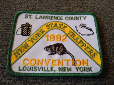 New York - 1992 Conention Patch - Louisville, NY